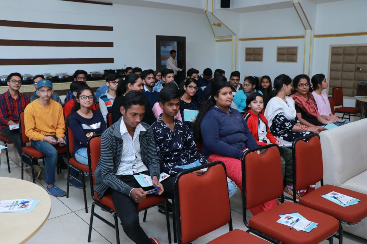 Seminar Conducted By IDP Team from Chandigarh in Roorkee on 17 Nov. 2019